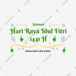Ucapan Idul Fitri 1441H (pinterest/pngtree.com)