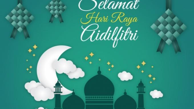 Ucapan Selamat Idul Fitri.