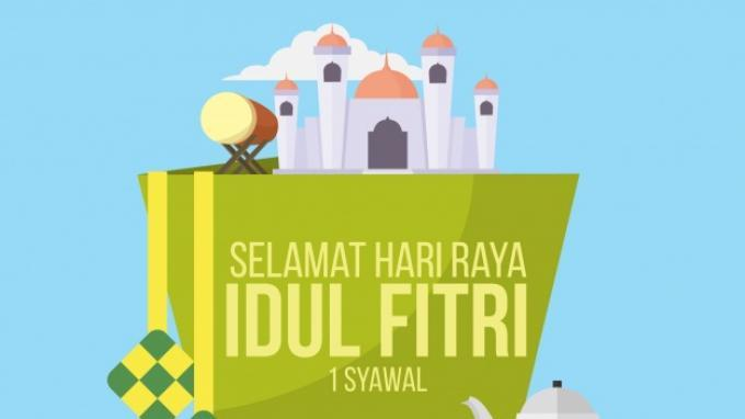Ucapan Idul Fitri (Freepik) (Freepik)
