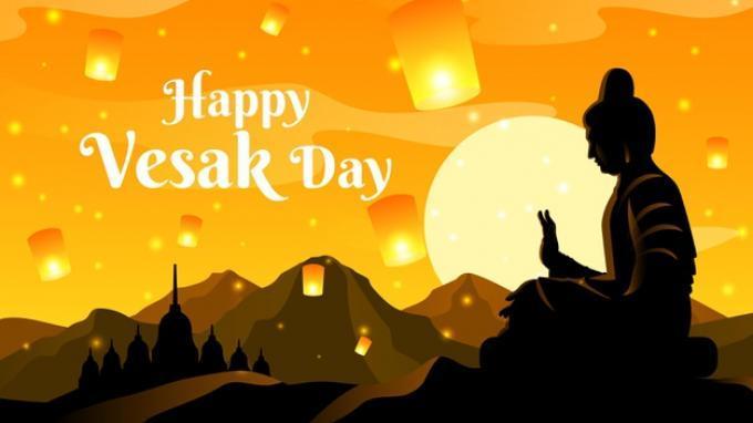 Jokowi: Selamat Hari Raya Waisak, Selalu Ada Cahaya Terang Sesudah Kegelapan