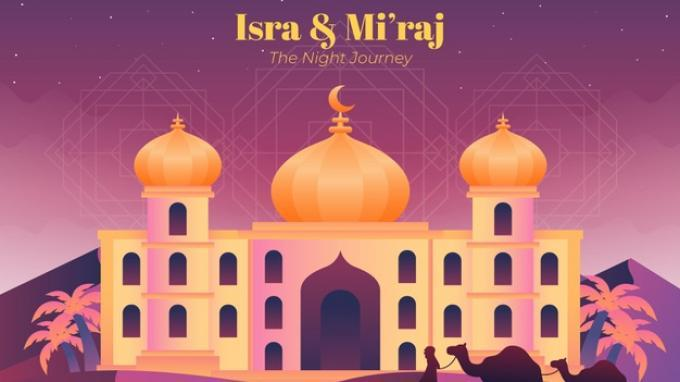 Ilustrasi - Isra Miraj 1442 H jatuh pada Kamis, 11 Maret 2021, berikut sejarah dan kumpulan ucapan untuk merayakan Isra Miraj 2021.
