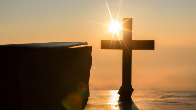Ilustrasi Peringatan Kenaikan Isa Almasih. Simak panduan ibadah