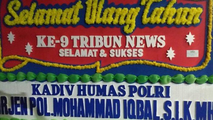 Mabes Polri Ucapkan Selamat Ulang Tahun Untuk Tribunnews.com