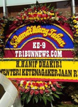 Menaker Hanif Dhakiri: Selamat Ulang Tahun Ke-9 Tribunnews.com