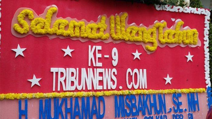 Anggota Komisi XI DPR RI Mukhamad Misbakhun: Selamat Ulang Tahun Tribunnews.com