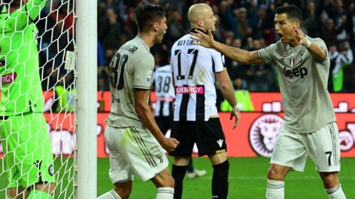 Cristiano Ronaldo Bobol Gawang Udinese, Juventus Masih Sempurna
