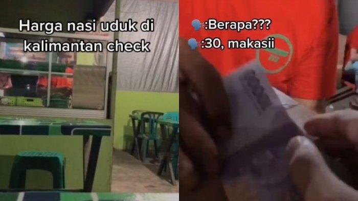 VIRAL Video Pemuda Beli Nasi Uduk Harga Rp 30 Ribu di Kalimantan, Ini Pengakuan Lengkapnya