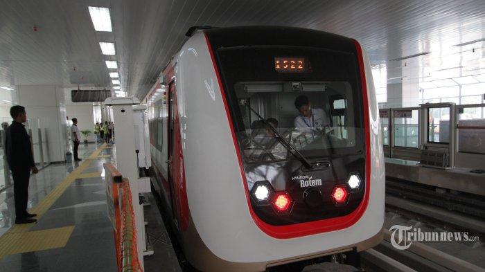 LRT Kelapa Gading-Velodrome Ditargetkan Bisa Beroperasi Mulai Februari 2019