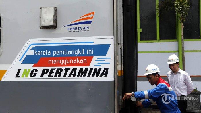 Kereta Api Bahan Bakar Gas Ditargetkan Dapat Beroperasi pada 2018