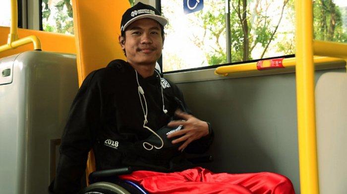 Uji Coba Transportasi Atlet Asian Para Games 2018: Kondisi Bus TransJakarta Sudah Nyaman
