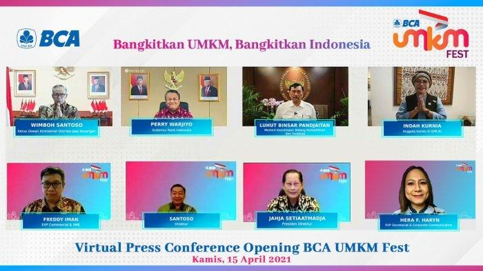 BCA Dukung All Out UMKM Zaman Now