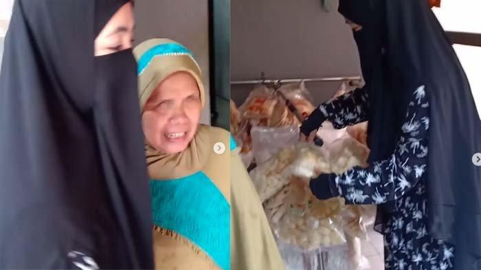 Ummi Pipik Syok Lihat Tunanetra Hafalkan Quran Sebelum Jualan Kerupuk, Istri Uje: Jujur Sangat Malu