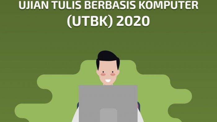 Ujian Tulis Berbasis Komputer (UTBK) 2020.