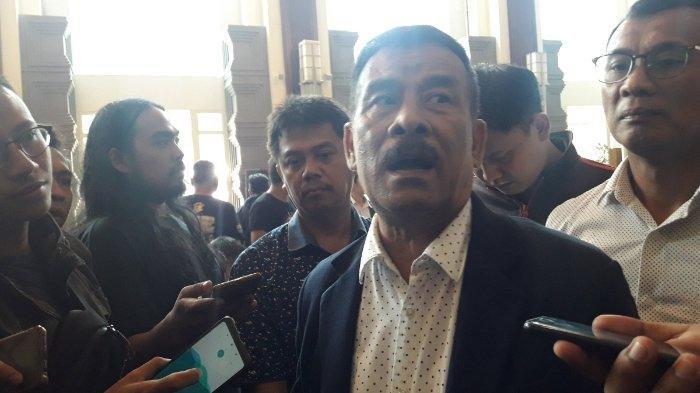 Manajer Persib Bandung, Umuh Muchtar, ditemui di Hotel El Royale, Jalan Merdeka No 2, Bandung, Kamis (28/3/2019).