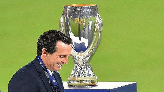 Hasil Piala Super Eropa, Villarreal Gagal Juara, Derita Emery Coreng Wajah Sepak Bola Spanyol