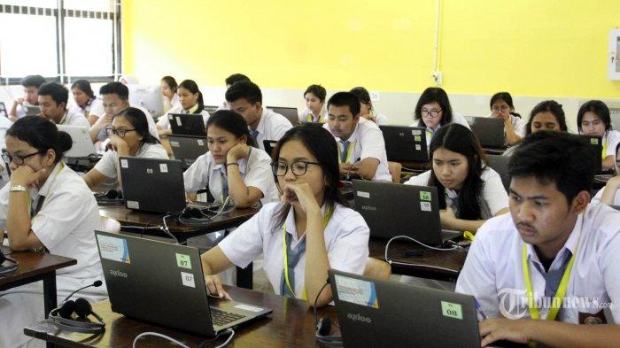 UNBK Hari Kedua, Komputer di SMAN 3 Yogya Logout Tiba-tiba di Tengah Ujian