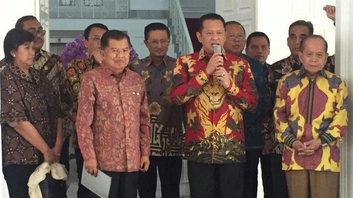 Jusuf Kalla Diundang Hadir di Acara Pelantikan Presiden dan Wakil Presiden
