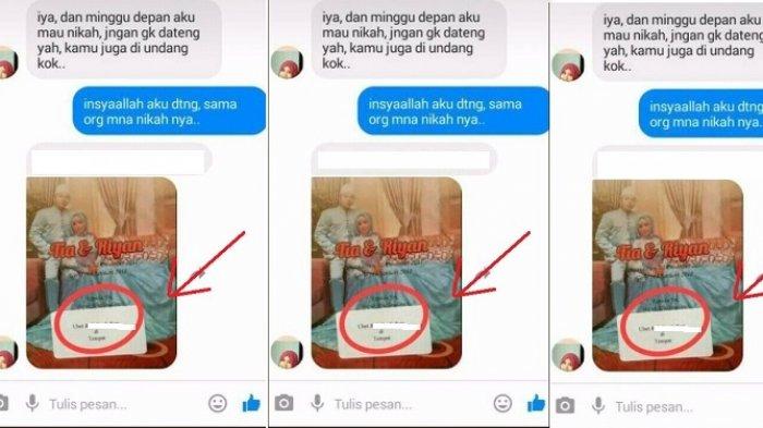 Viral di Media Sosial: Ketika Mantan Tiba-tiba Kirim Undangan Nikah, Tapi Tulisannya jadi Sorotan