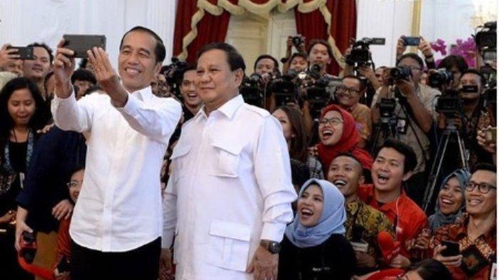 Unggah Foto Bersama Prabowo, Jokowi Ungkap Hasil Pertemuan Keduanya