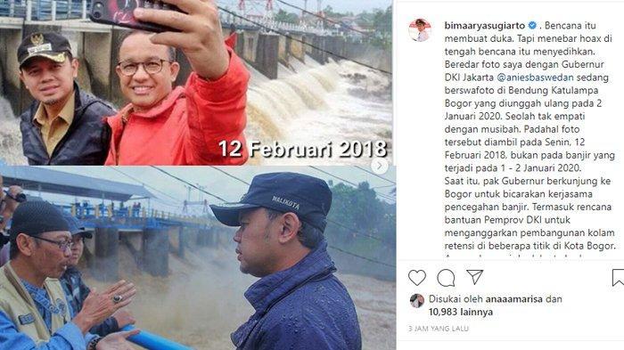 Curhat Bima Arya Fotonya Bareng Anies Baswedan Tahun 2018 Diunggah Guntur Romli