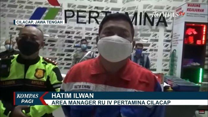 Unit Manager Communication, Relation, Pertamina Refinery Unit (RU) IV Cilacap, Hatim Ilwan  nh
