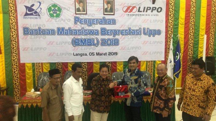Lippo Group Kucurkan Beasiswa Senilai Rp 150 Juta untuk Mahasiswa Universitas Samudra Langsa