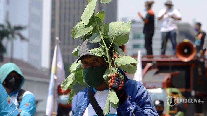 Hari Ini, Ribuan Buruh Aksi Kawal Uji Formil UU Cipta Kerja, KSPI: Serentak di 1.000 Pabrik