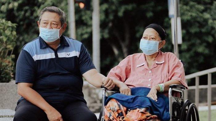 Mengenang Momen Ani Yudhoyono Tertawa Bahagia di Sisi SBY, Ossy Dermawan: Semoga Allah Lindungi Ibu