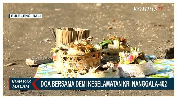 Berharap KRI Nanggala-402 Segera Ditemukan, Gubernur dan Kapolda Bali Gelar Upacara Pakelem