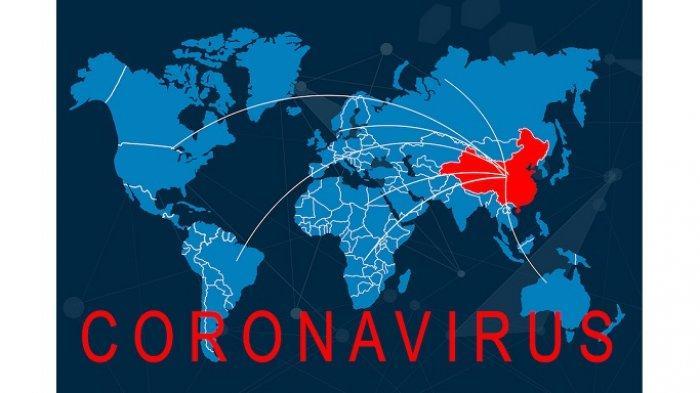 Ilustrasi peta penyebaran Covid-19 - Simak update corona hari ini, Kamis 2 April 2020. Kasus global telah menembus angka 935.287. Namun, kabar baiknya, hampir 200 ribu dinyatakan sembuh.