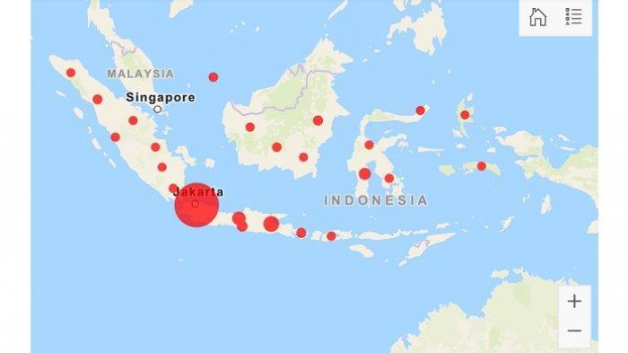 UPDATE Corona 26 Maret 2020 di 27 Provinsi Indonesia, Tambahan Terbanyak dari Sulsel