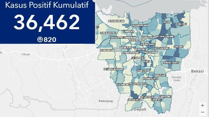 Update Corona Jakarta Hari Ini: Ada 820 Kasus Baru, Catat Penambahan Terbanyak di Indonesia