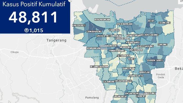 Update Corona Jakarta Hari Ini Ada 1 014 Kasus Baru Puncaki Penambahan Terbanyak Di Indonesia Tribunnews Com Mobile