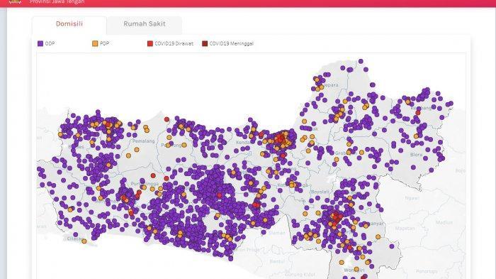 Update Corona Jawa Tengah 7 April 2020 133 Positif 14 Sembuh 22 Meninggal Dunia Tribunnews Com Mobile