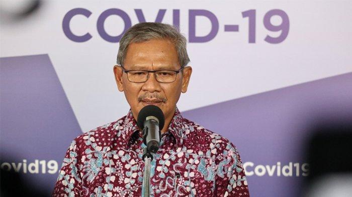 Update Kasus Corona 4 Mei, Achmad Yurianto: Pasien Sembuh yang Paling Banyak Ada di Jakarta
