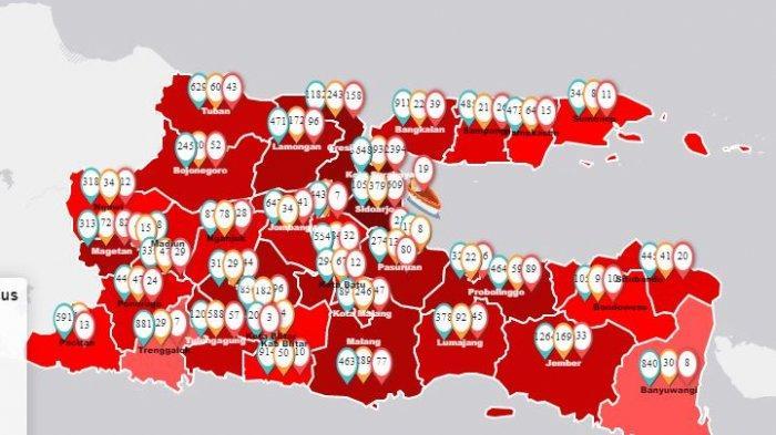 25.216 Pasien Covid di Indonesia, Jakarta Tambahan Tertinggi Sedangkan 8 Provinsi Tak Ada Kasus Baru