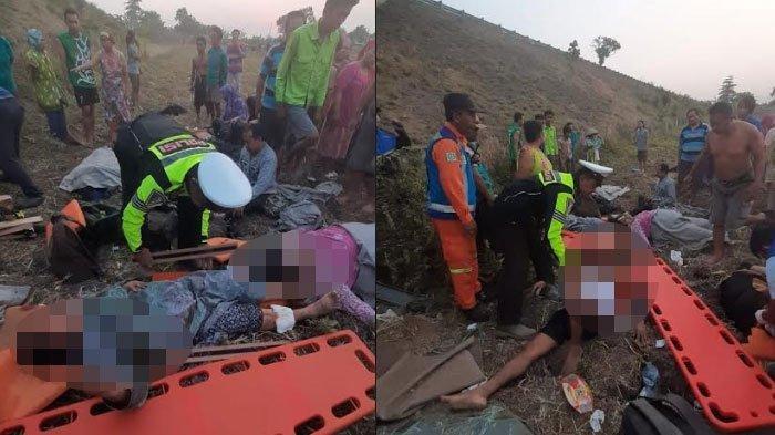 Penyebab Kecelakaan Bus Kramat Djati di Tol Sumo, Terperosok 15 m hingga 2 Orang Tewas, Ini Faktanya