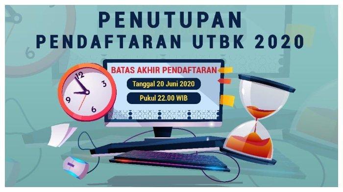 Terakhir Besok, Pendaftaran UTBK-SBMPTN 2020 akan Ditutup, Ini Panduan Pengisian hingga Cetak Kartu