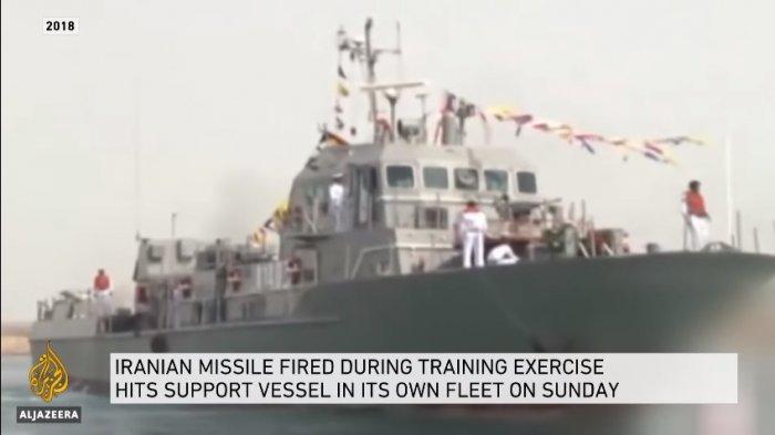Rudal Iran Tak Sengaja Serang Kapal Mereka Sendiri, 19 Pelaut Tewas