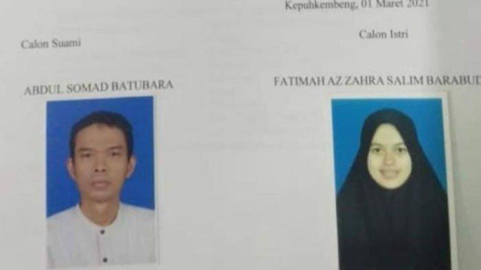 Ustadz Abdul Somad dan Fatimah Az Zahra akan menikah pada 20 Mei 2021. Ini sosok calon istri Ustadz Abdul Somad, Fatimah Az Zahra.