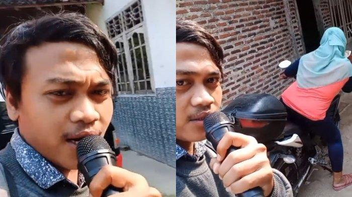 VIRAL Aksi Pegawai Koperasi Tagih Utang Pakai Speaker, Pinjam Mikrofon dari Warga yang Karaoke