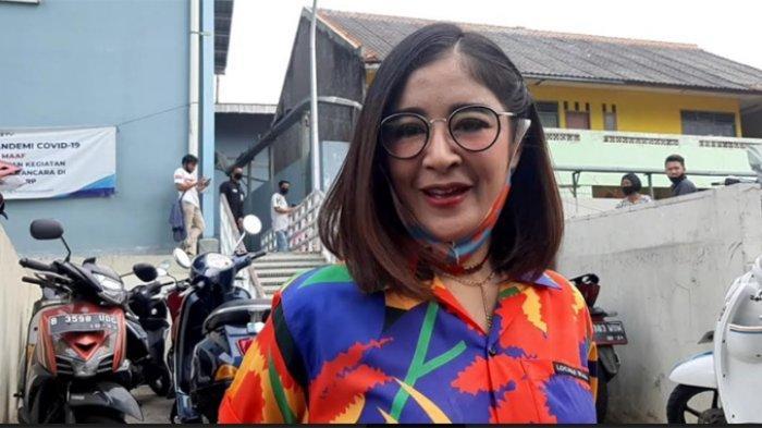 Uut Permatasari ketika ditemui di gedung Trans TV, Jalan Kapten Tendean, Mampang Prapatan, Jakarta Selatan, Kamis (10/9/2020).