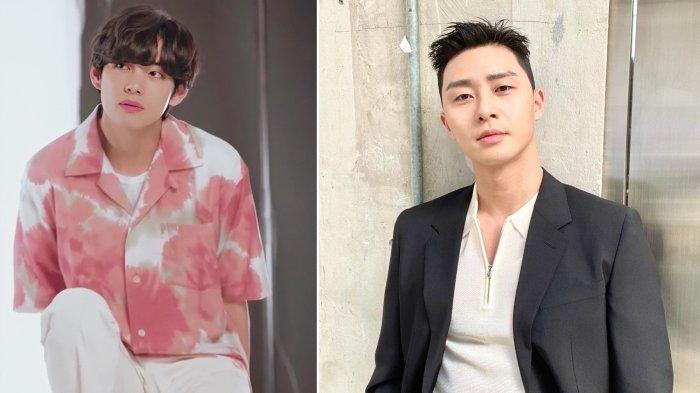 Ketemu V BTS dan Park Seo Joon, Ayah Penggemar Ini Justru Hanya Fokus pada V dan Melupakan Seo Joon