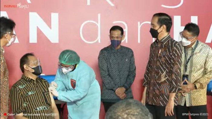 Presiden Jokowi Berharap Seniman dan Budayawan Bisa Terlindungi Usai Divaksinasi Covid-19