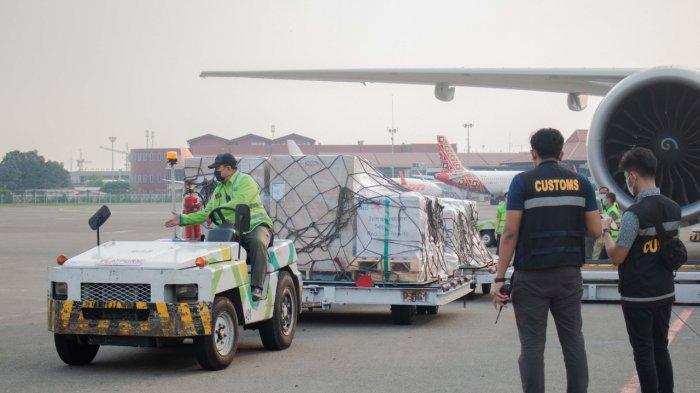 Vaksin Bantuan dari Australia Tiba di Indonesia, Bea Cukai Soekarno Hatta Berikan Pelayanan Optimal