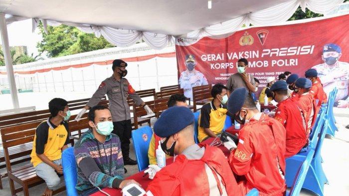 RS Bhayangkara Brimob Polri Vaksinasi Ribuan Warga Binaan di Depok