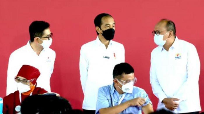 Vaksinasi Gotong Royong Dimulai, Presiden Jokowi : Herd Imunity Segera Tercapai