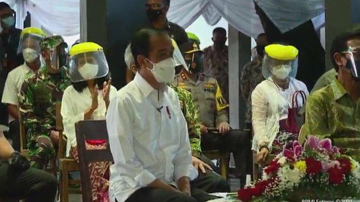 Jokowi: Merawat Semangat Untuk Berkarya Lewat Vaksinasi Covid-19 Bagi Seniman Pekerja Seni