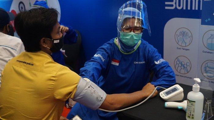 6.821 Karyawan dan Pensiunan PG Ikut Vaksinasi Bersama Kementerian BUMN