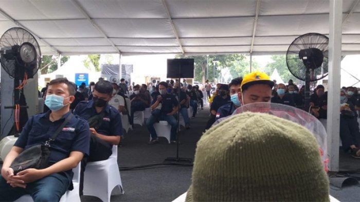 5.500 Jurnalis di Jabodetabek Mulai Divaksin Covid-19 Hari Ini di GBK